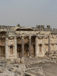 The Roman temple ruins of Baalbek Lebanon Photograph