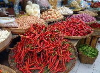The market in Solo Surakarta Indonesia Holiday Experience