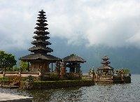 Bedugul Lake Bratan Temple Indonesia Picture gallery
