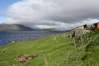 Ferry from Denmark to Faroe Islands Saksun Diary Picture