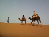 Camel Trek Merzouga dunes