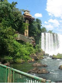 Iguazu Falls guided tour Iguazu River Brazil Travel Pictures