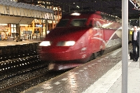 Thalys Train Brussels to Paris France Diary Photography