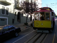 San Francisco Tram Ride United States Vacation Picture