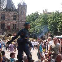 Pictures of the Charles Dickens Festival in Deventer Netherlands Photograph Deventer op Stelten attracts tourists