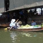The Floating Market at Damnoen Saduak Thailand Travel Blog