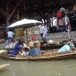 The Floating Market at Damnoen Saduak Thailand Travel Package