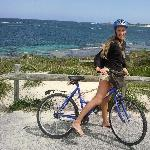 Biking around Rottnest Island