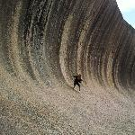 Surfing Wave Rock