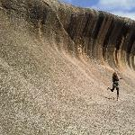 Wave Rock Australia Its Steep!