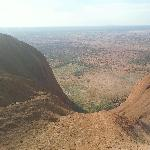 Ayers Rock Australia Half way up