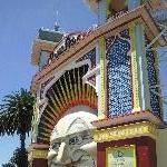 Melbourne Australia St Kilda Luna park