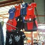 Football shirts @ market