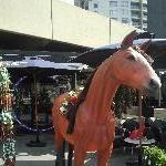 Melbourne's cup horsie