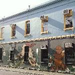Melbourne Australia Fitzroy street shops
