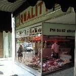 Italian butcher in Carlton