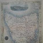 Old Tasmanian map in Hobart