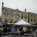 The Salamanca markets in Hobart Australia Holiday Adventure