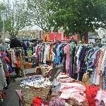 Vintage clothing @ Salamanca markets