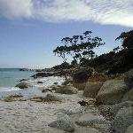 Bay of Fires Australia Deserted beaches at Binalong