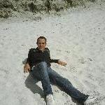 Relaxing at Swimcart beach