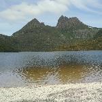Cradle Mountain over Dove Lake
