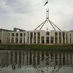 The Parliament House, Canberra