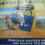 Tickets for the Sydney Tower Sky Walk, Sydney Australia