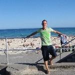Bondi beach esplanade