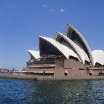 Sydney Opera House on the water