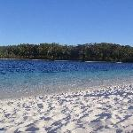 Lake McKenzie freshwater pool