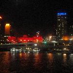 Panorama from the Brisbane dinner cruise