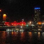 Panorama from the Brisbane dinner cruise