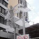 Artsy Queen St Mall in Brisbane
