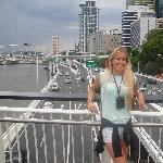 On the Victoria Bridge