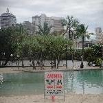 The South Bank Parklands beach
