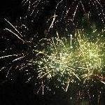 Rockhampton Australia Amazing fireworks show in Rocky