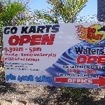 Agnes Water Australia Go Kart!!!