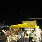 Christmas markets on the Fitzroy River