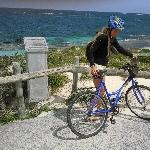 Biking to the beach, Rottnest Island Australia