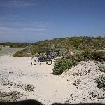 Sand dunes on Rottnest Island, Rottnest Island Australia