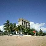Townsville Australia The hotel from the beach