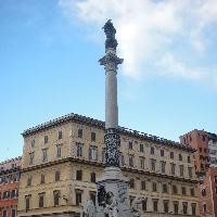 Rome Italy The buildings on Piazza di Spagna