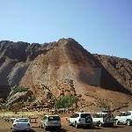 Parking at the bottom of Uluru