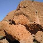 Amazing outback rock formations