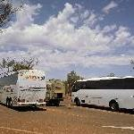 The Ayers Rock coaches and shuttles