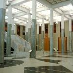 The New Parliament House in Canberra, Canberra Australia