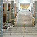 Stairs up the Parliament House