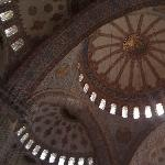 Istanbul Turkey Blue Mosque inside