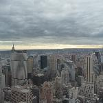 New York view from the Empire State Building